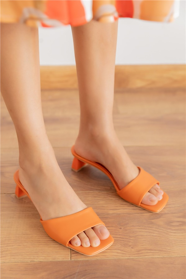 Orange Slipper