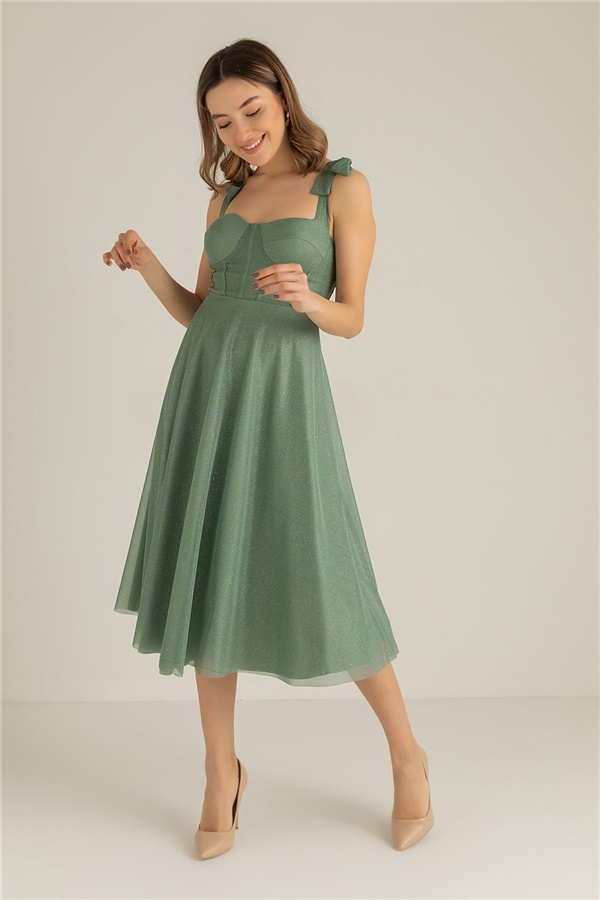 Mind green Evening Dress