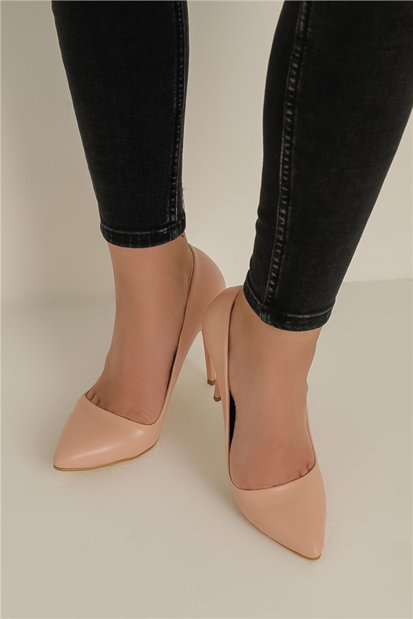 Powder color Heels