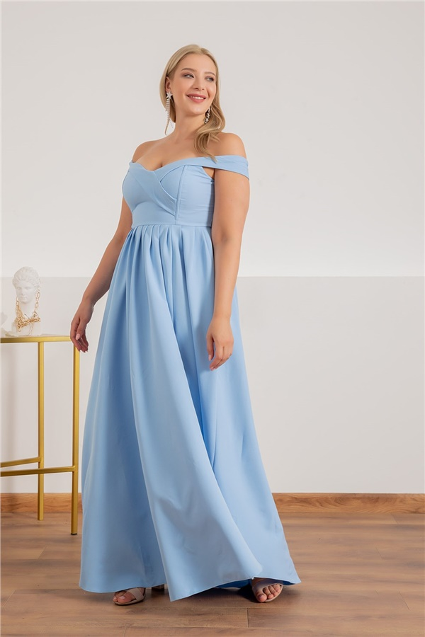 Baby blue Evening Dresses